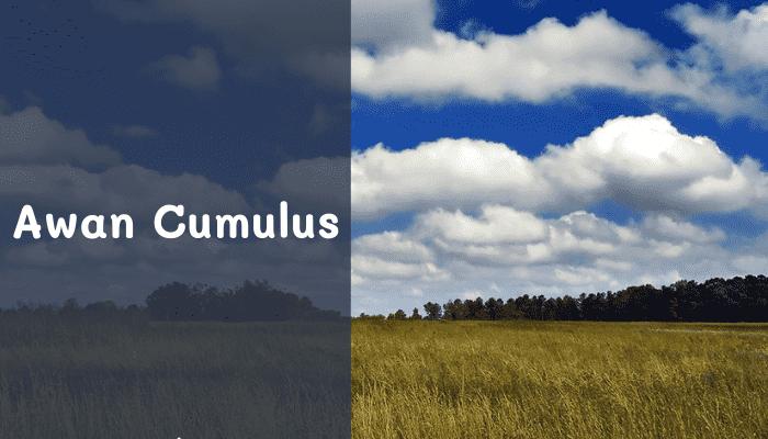 pengertian awan cumulus