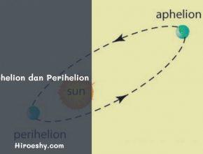 aphelion dan perihelion
